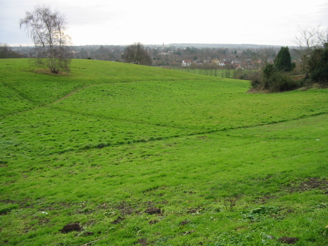 file a green area near canterbury city centre geograph