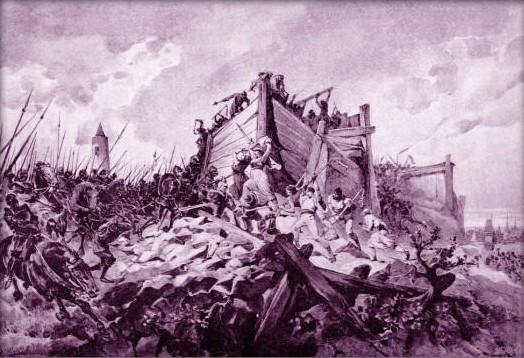Soubor:Adolf Liebscher - Bitva na hoře Vítkově dne 14. července roku 1420.jpg