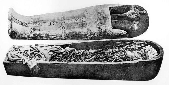 Fichier:Amenhotep I Cartonnage.jpg