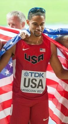 Arman Hall USA relay 2013.jpg
