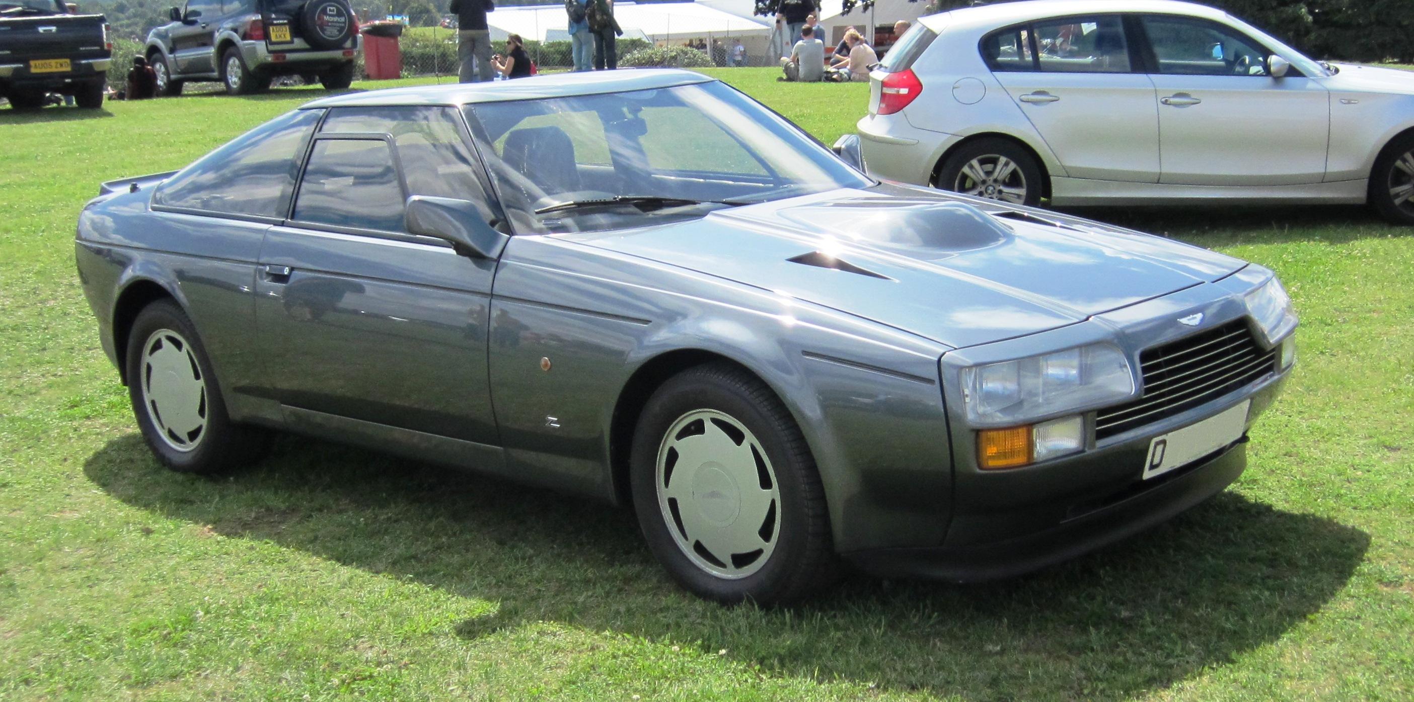 File Aston Martin V8 Zagato Registered Nov 1986 5340cc Jpg Wikimedia Commons
