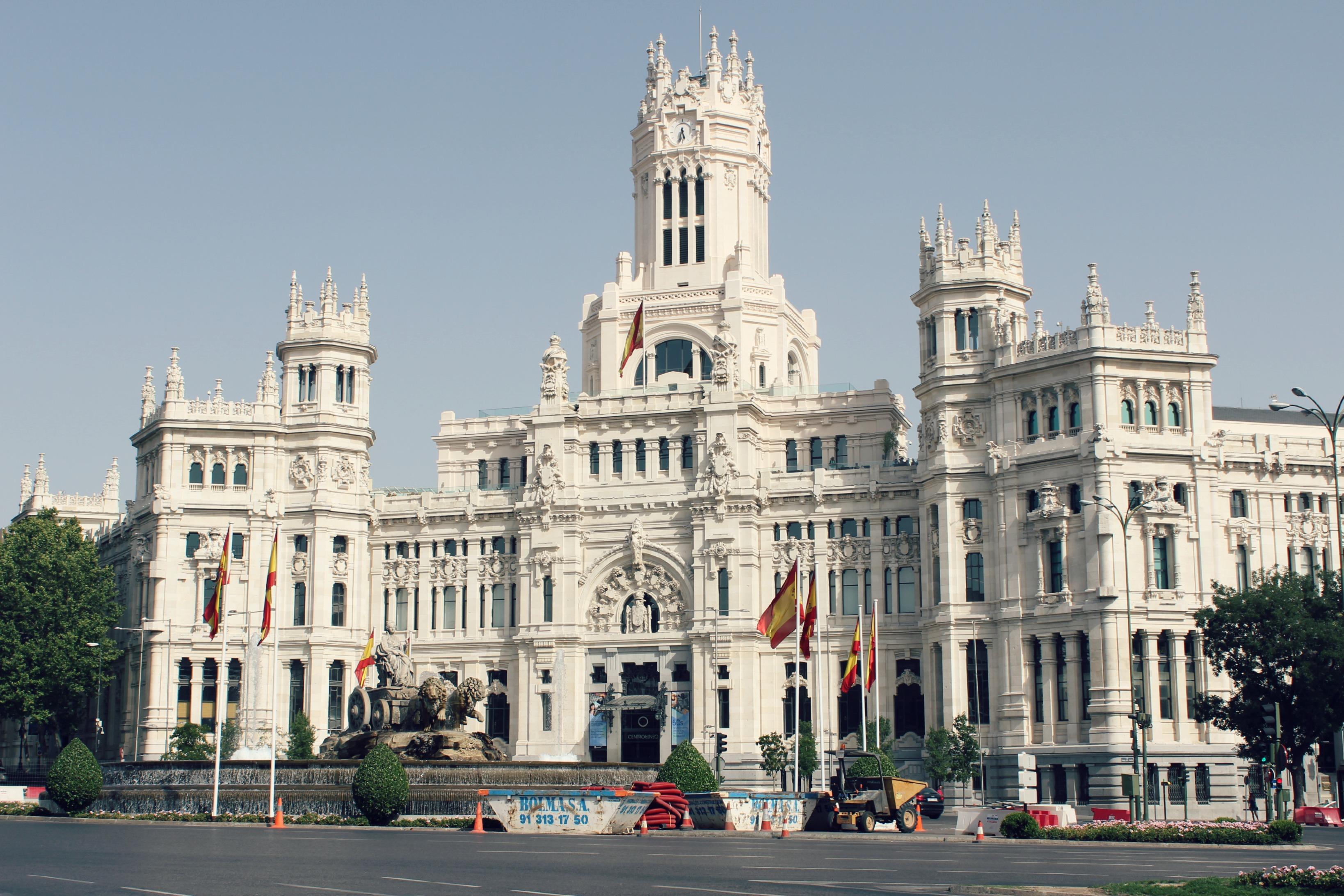 Ayuntamiento de la Comunidad de Madrid, Plaza de la Cibeles..JPG