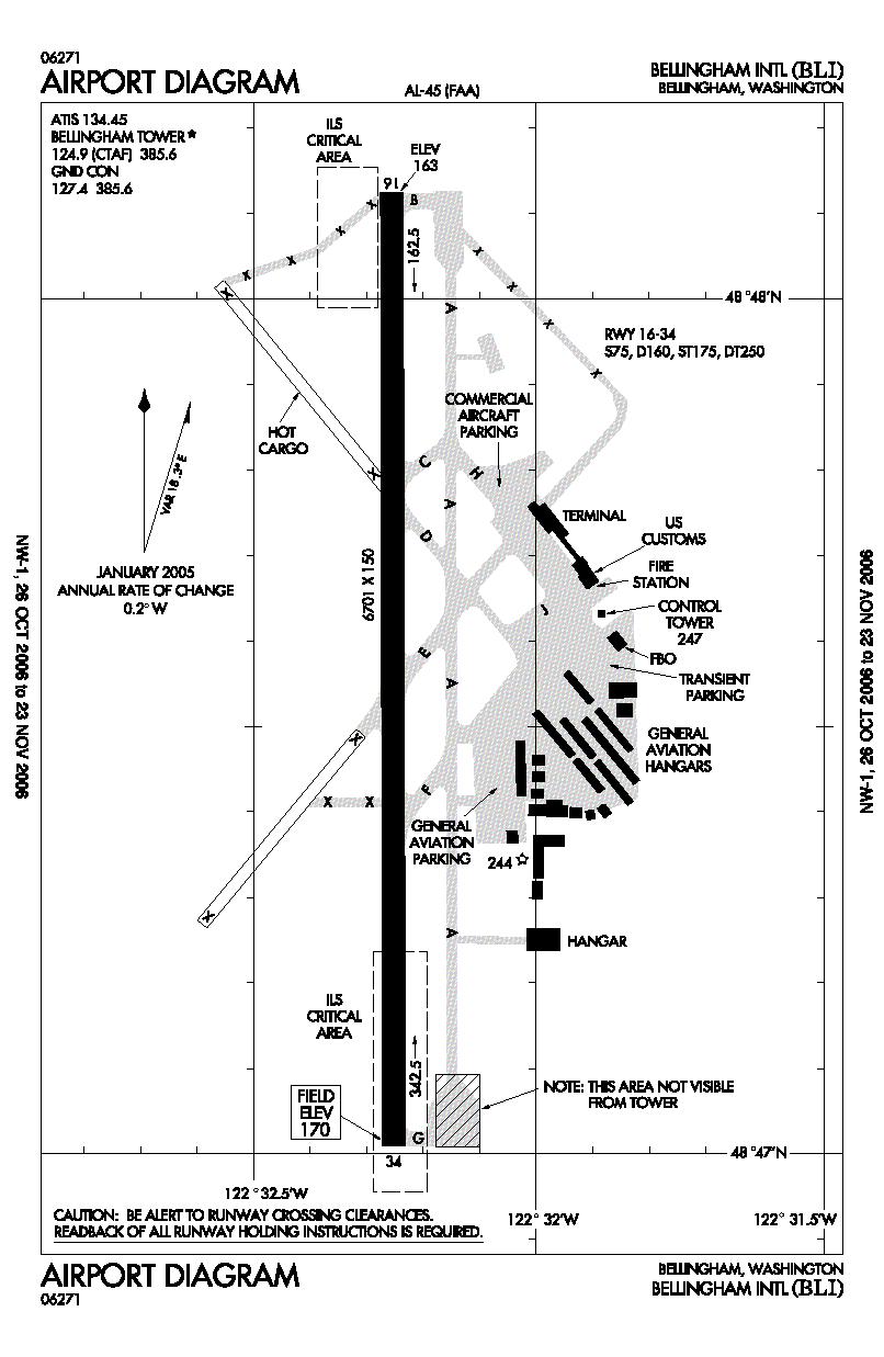 Aeropuerto Internacional De Bellingham
