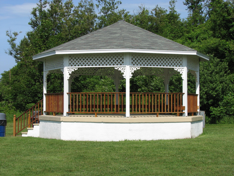 Octagonal Houses File Bailey S Hill Gazebo In Nahant Massachusetts Jpg
