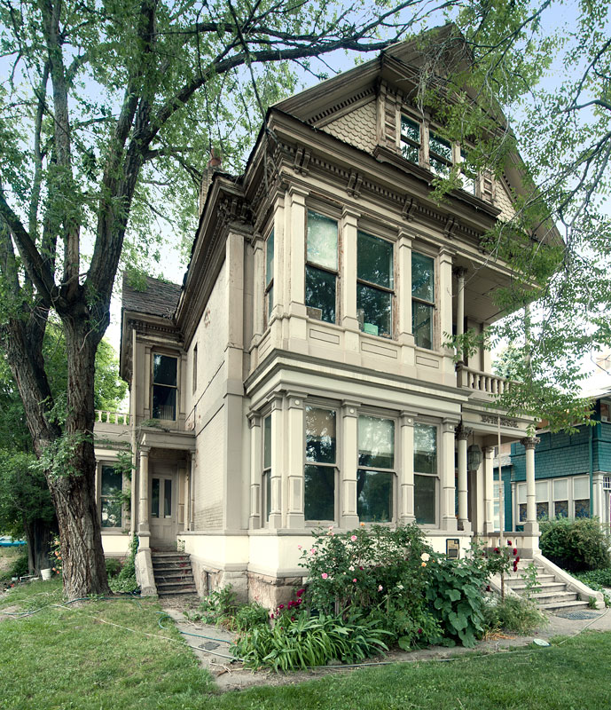 Salt Lake City Utah Houses: Simon Bamberger House