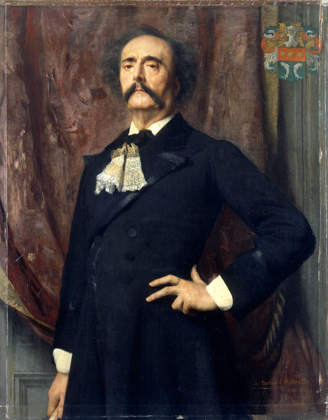 Portrait of Jules Amédée Barbey d'Aurevilly