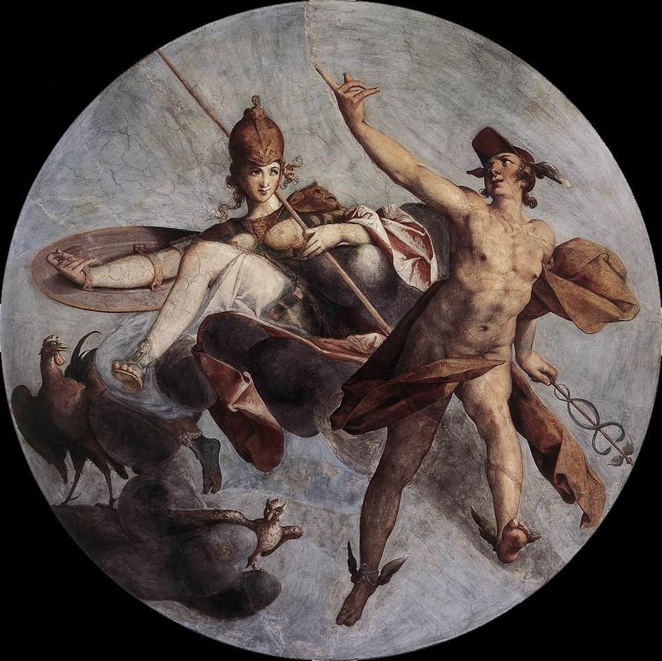 Filebartholomeus Spranger Hermes And Athena Wga21691jpg