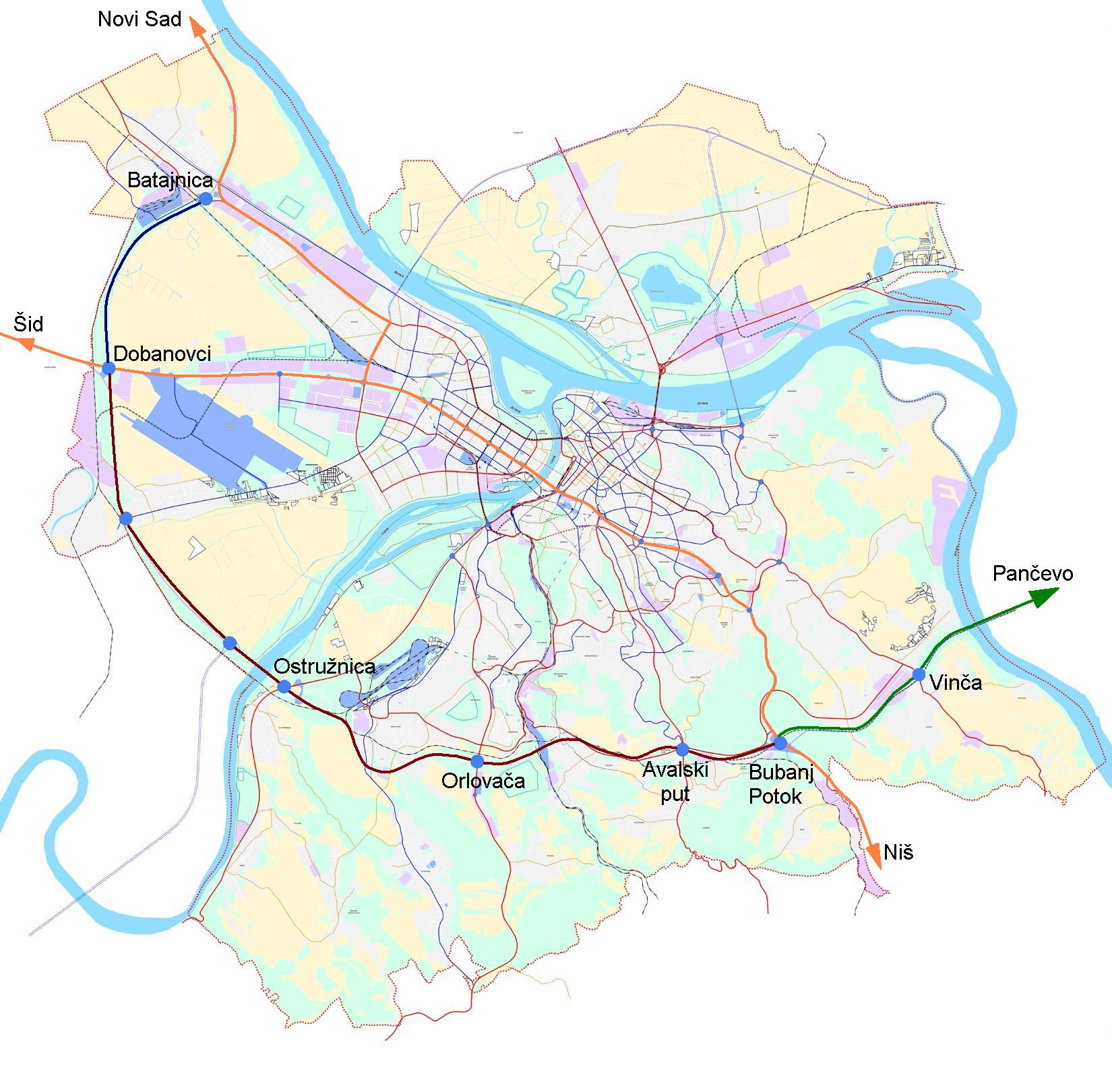 Obilaznica Oko Beograda Wikipedia