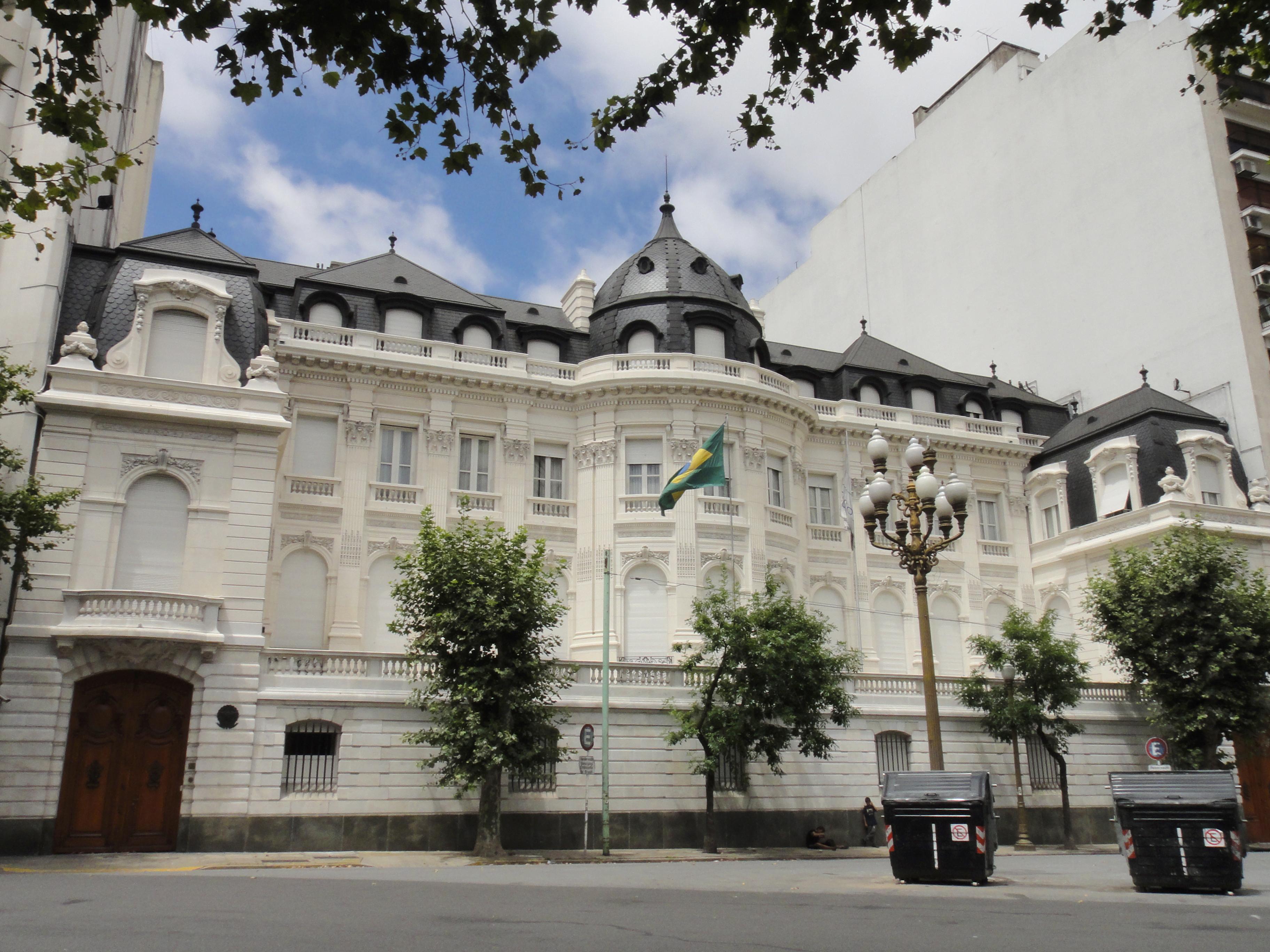 Embajada de Brasil en Buenos Aires, Argentina