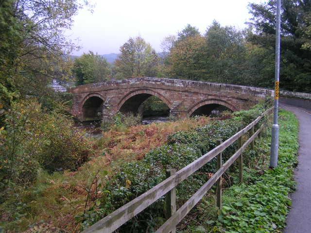 Bridge over the Esk at Grosmont - geograph.org.uk - 277287