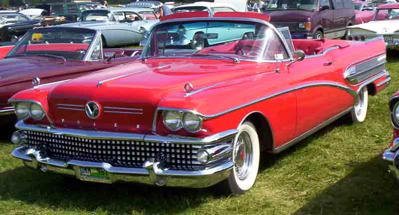2 Door Convertible >> File:Buick Convertible 1958 2.jpg - Wikimedia Commons