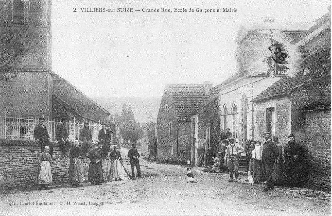 File cp villiers sur suize grande rue ecole de gar ons et for Rue des garcons