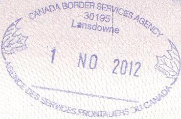 FileCanada Passport Stamp