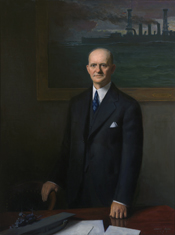 Portrait of Vinson, 1943.