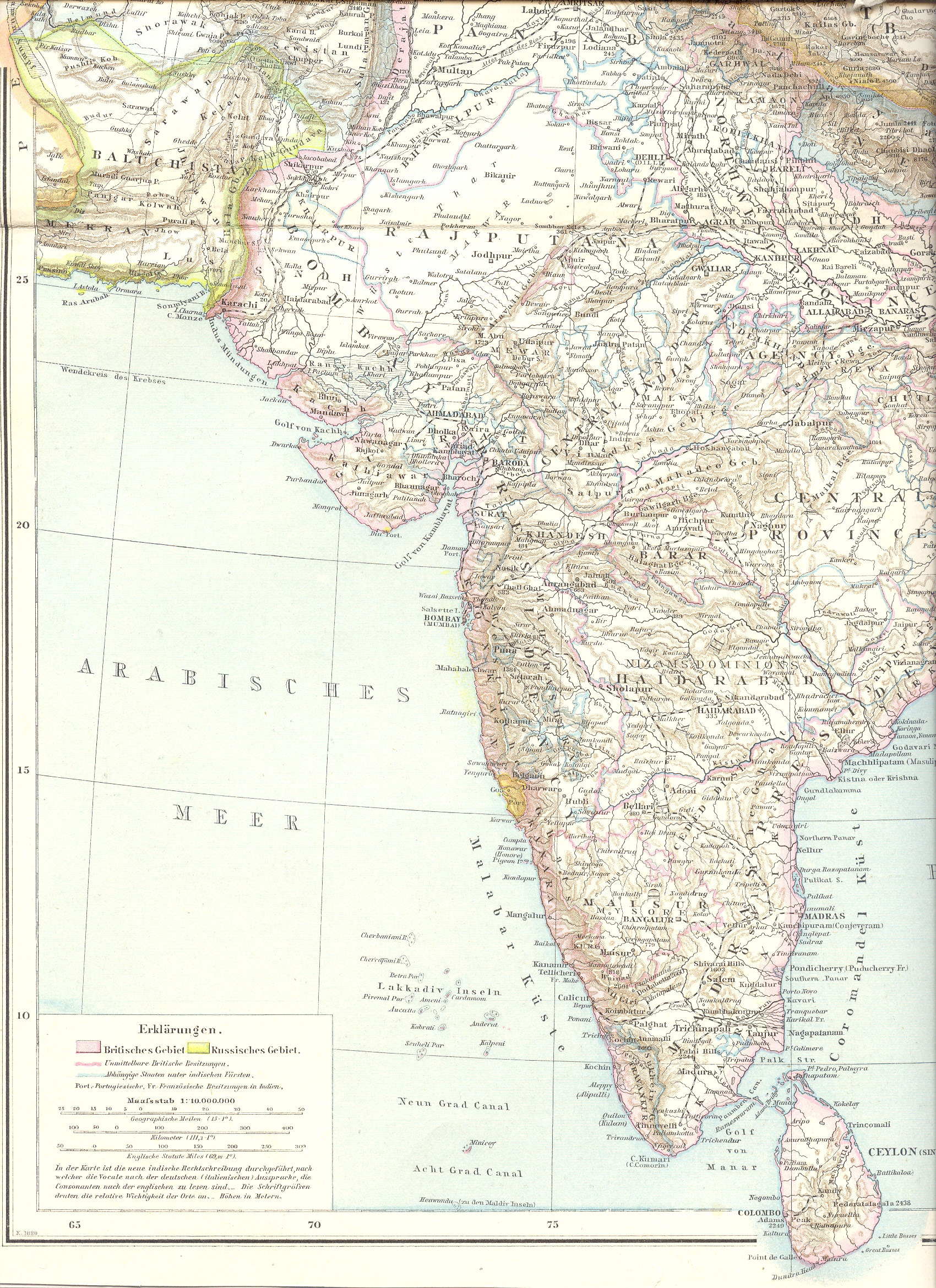 filecentral and south asia from the first edition of the allgemeiner hand
