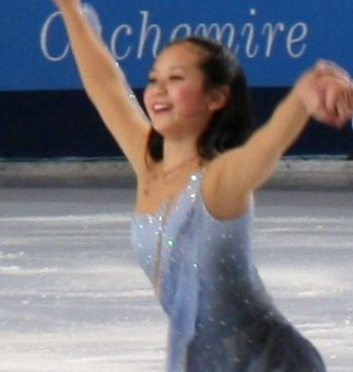 Felicia Zhang at the [[2010 Trophée Eric Bompard]]