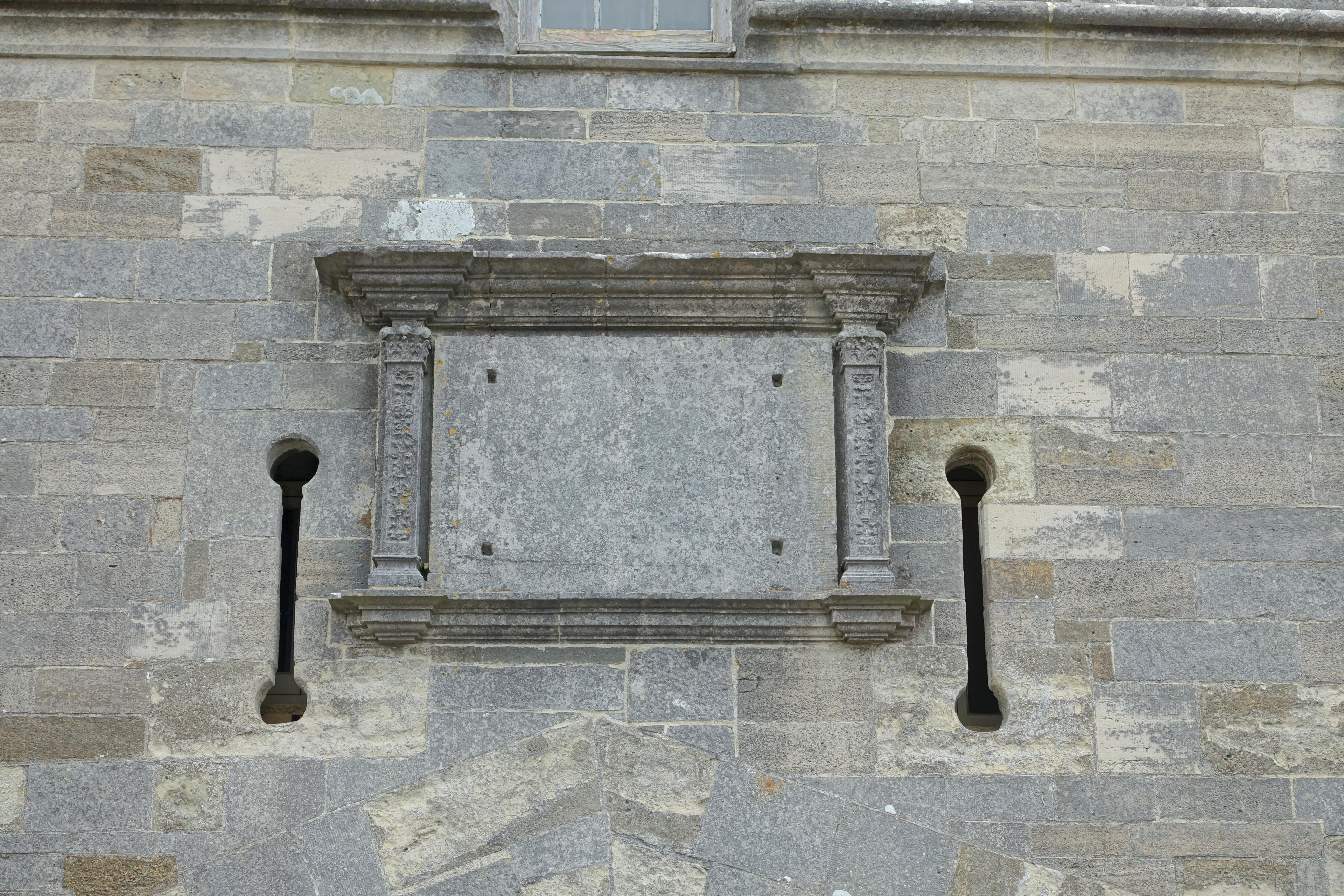 file:detail, calshot castle - calshot, england - dsc04161