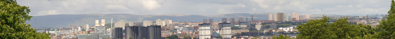 Панорама Глазго