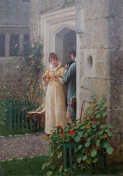File:Edmund Blair Leighton - The request.jpg