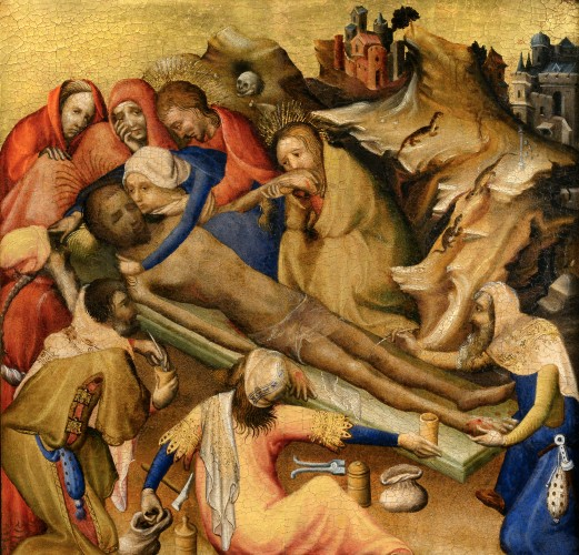 File Embalming Of The Body Of Christ From Triptych