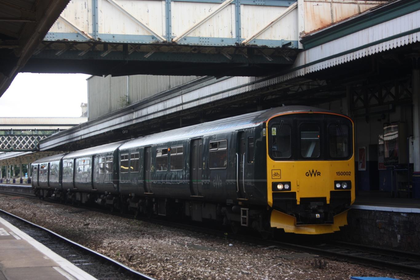 File Exeter St Davids Gwr 150002 Avocet Line Service Jpg
