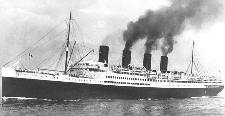 Old Fashioned Cruise Ship