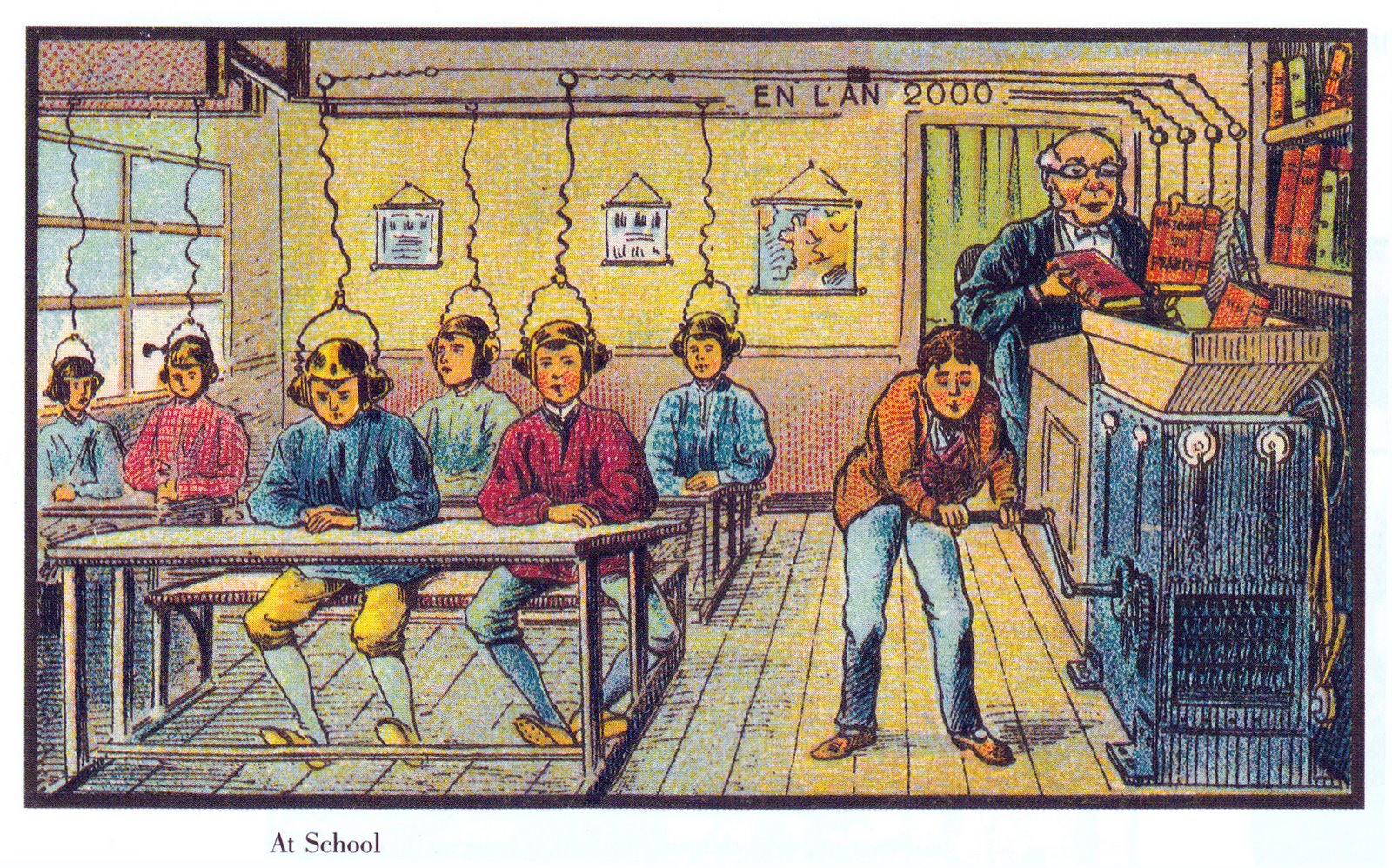 School in the year 2000