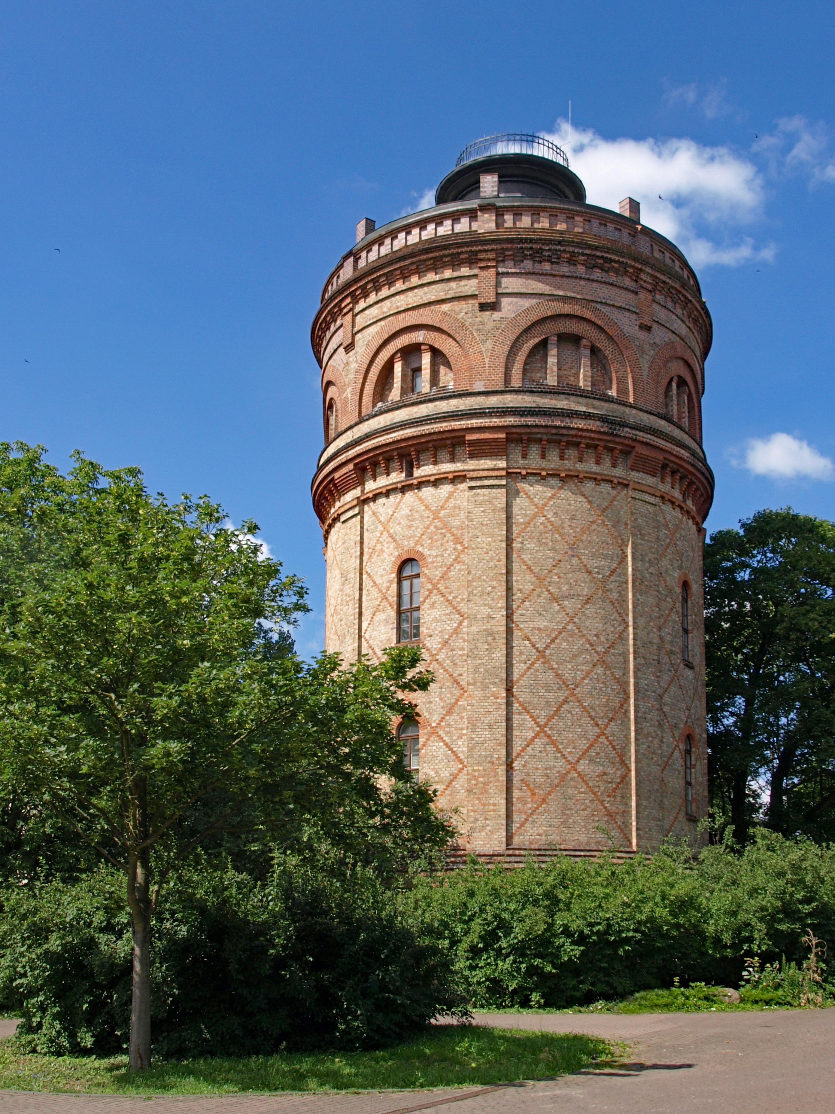 Wieża wodna we Frankfurcie nad Odrą