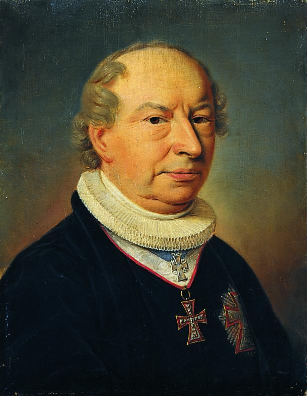 Friedrich Münter. Portrait by [[Christian Albrecht Jensen