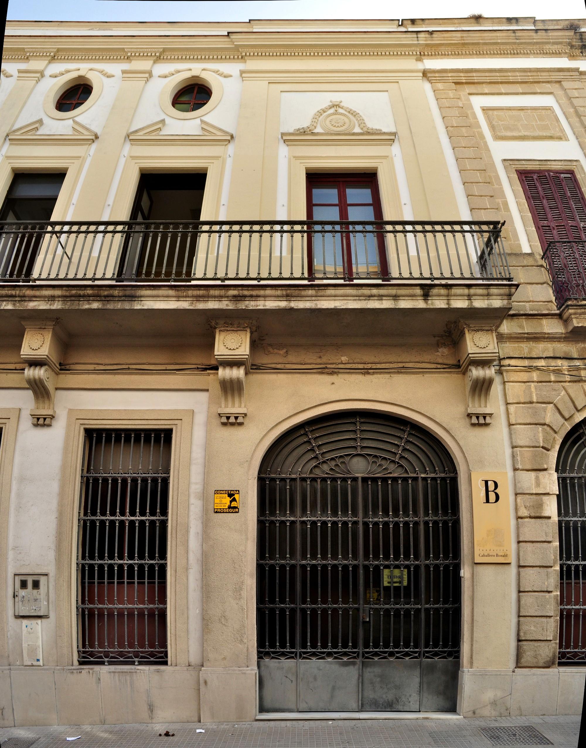 Sede de la Fundación Caballero Bonald en Jerez de la Frontera.