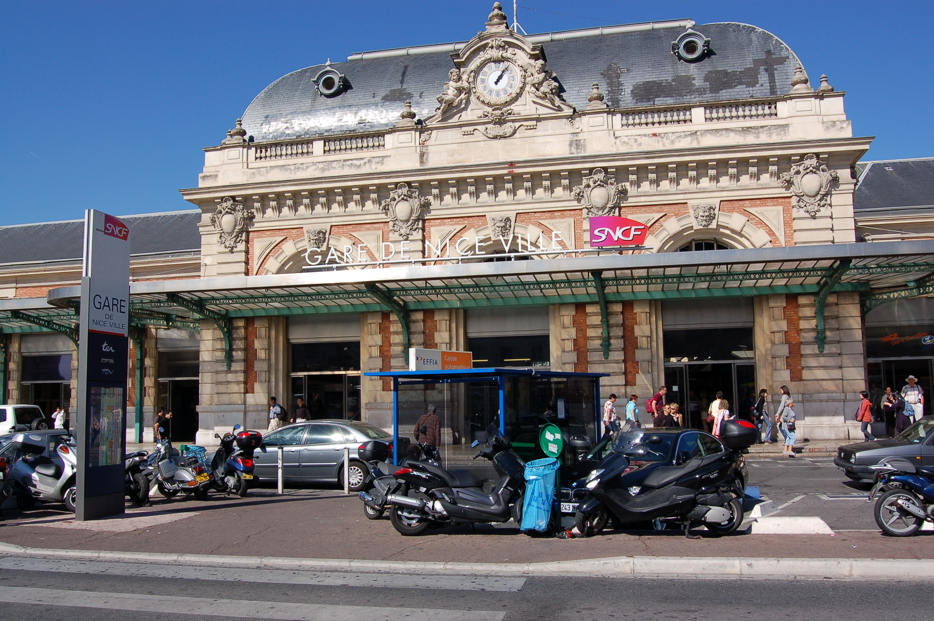 Gare Nice Ville Campanile