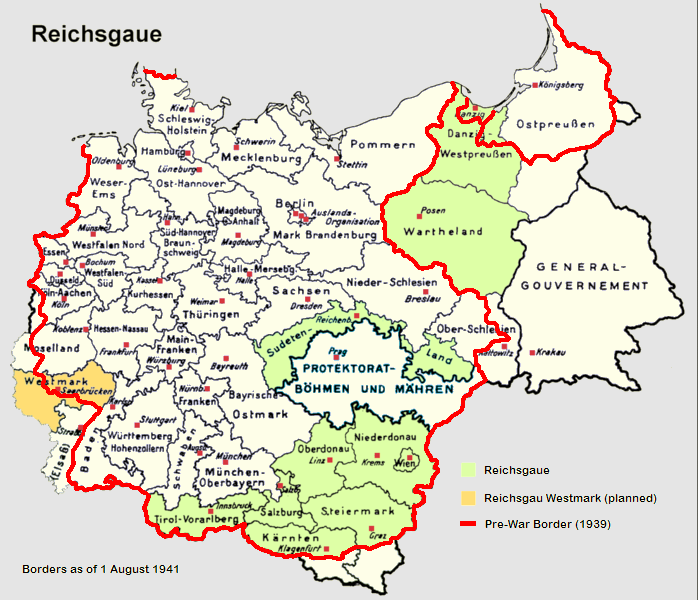 Former eastern territories of Germany Wikipedia – Map of Germany with Towns