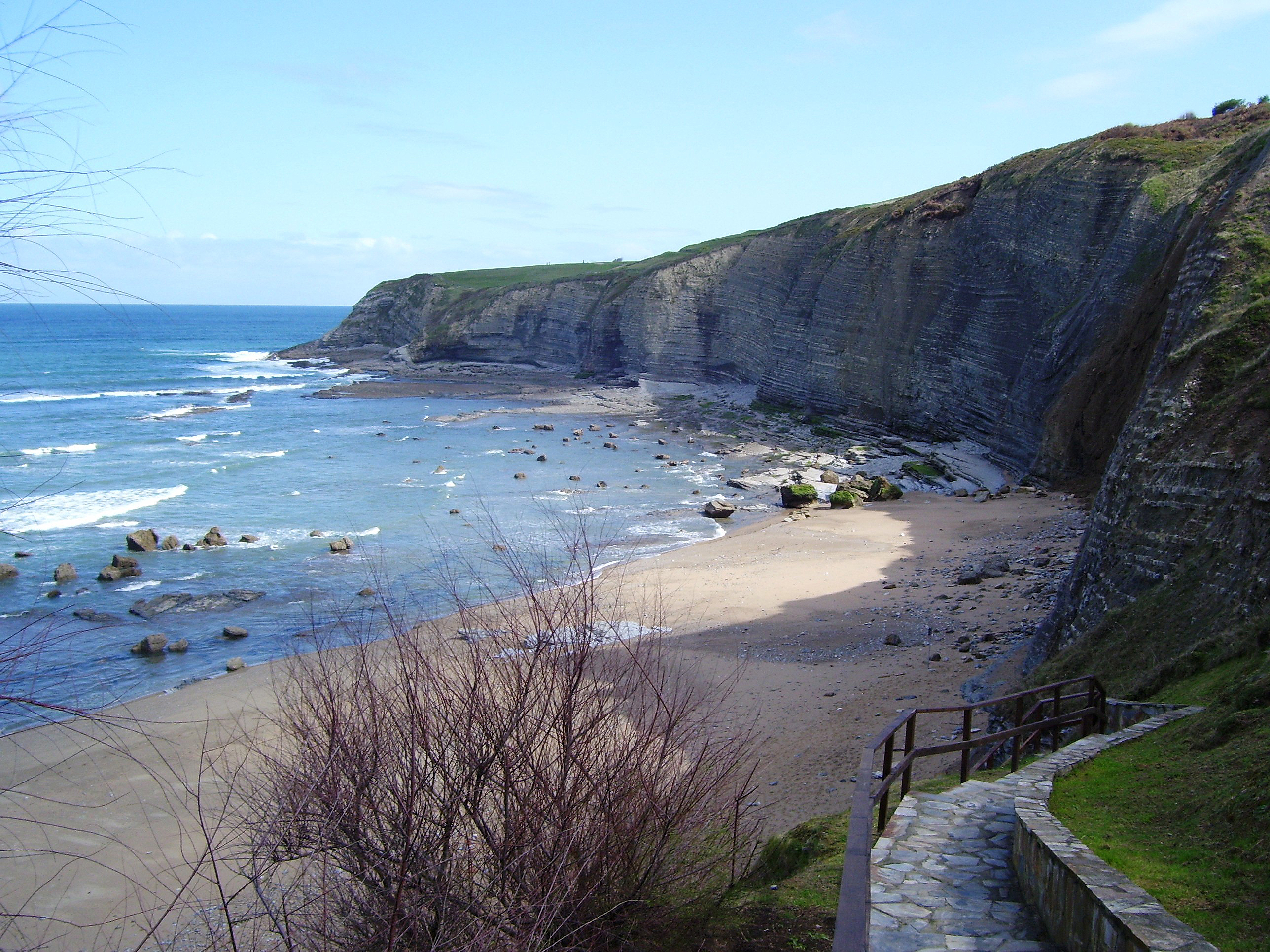 File gijon playa wikimedia commons - Fotos del sporting de gijon ...
