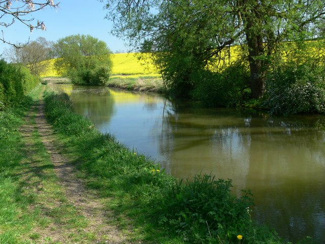 Grand Union Canal, Leicestershire - geograph.org.uk - 417916