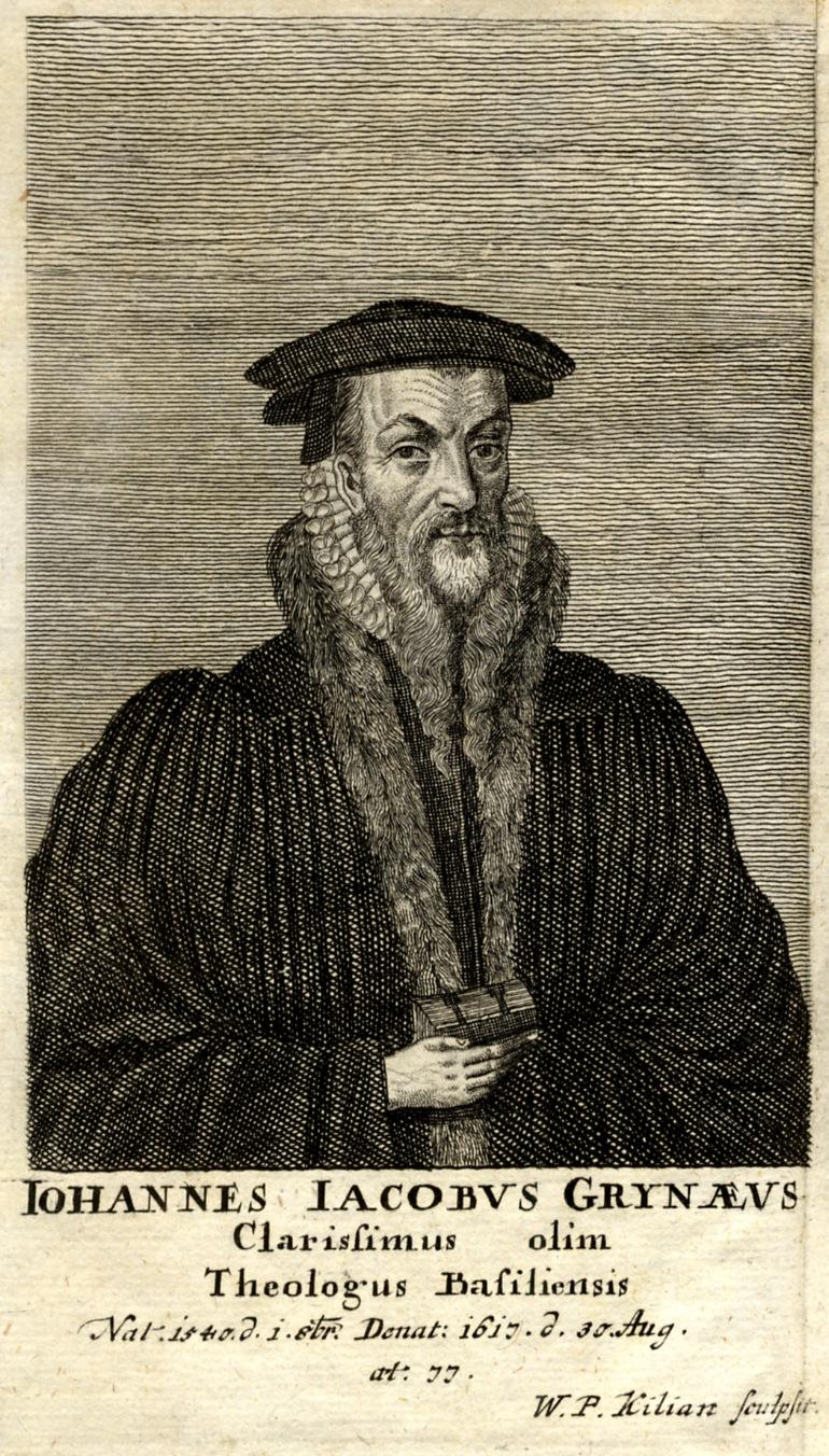 Johann Jakob Grynaeus.