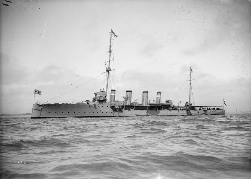 HMS Boadicea (1908)