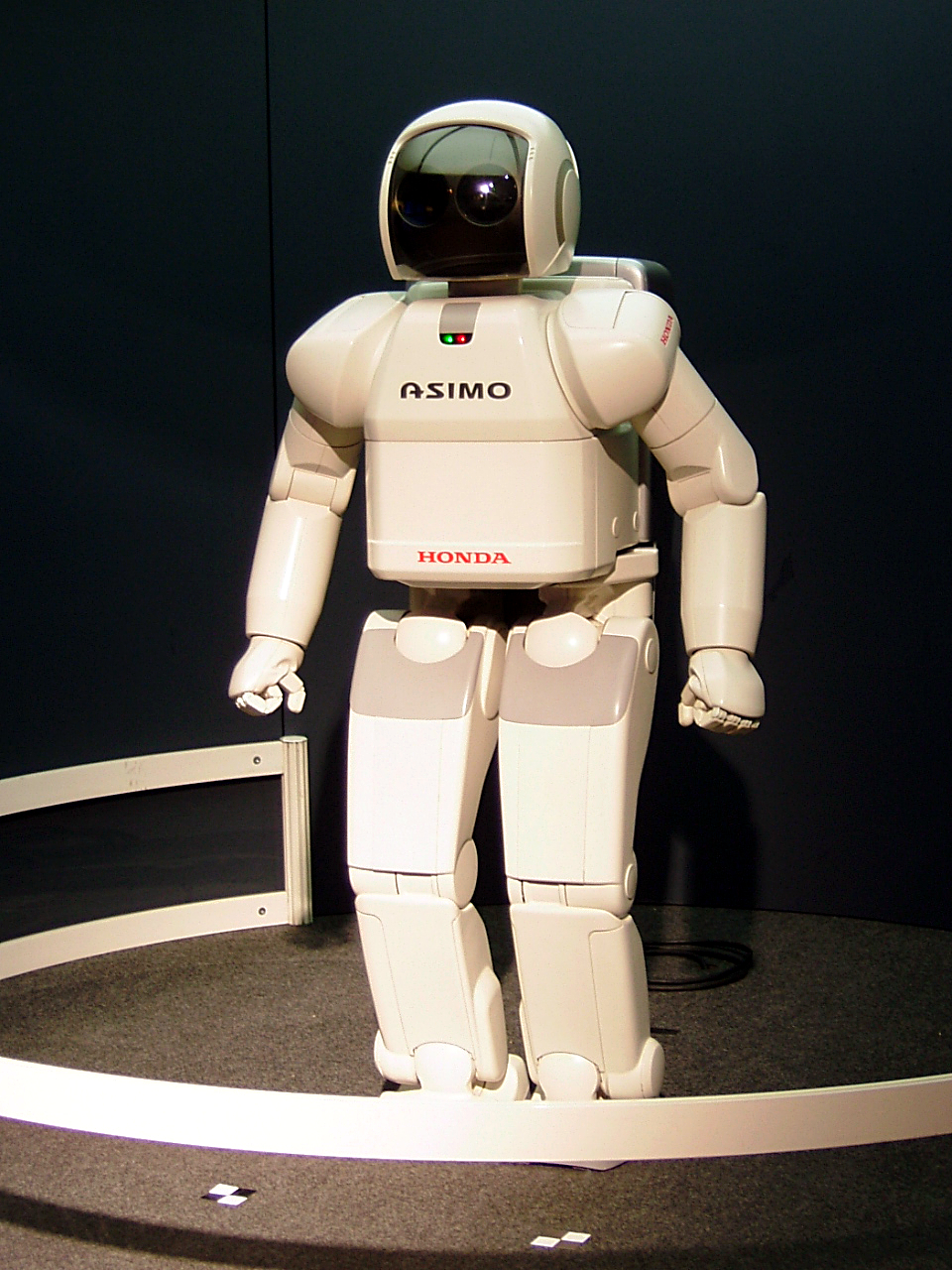 One of the first human-like robots, ASIMO from Honda