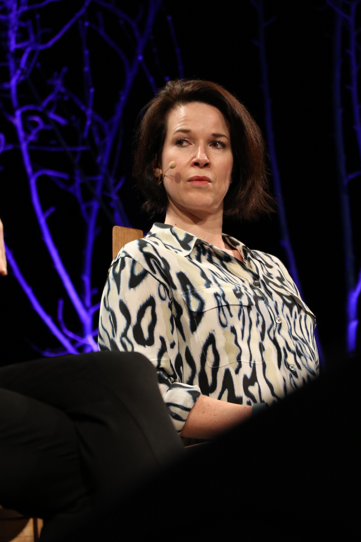 Stephanie Merritt at the 2016 [[Hay Festival