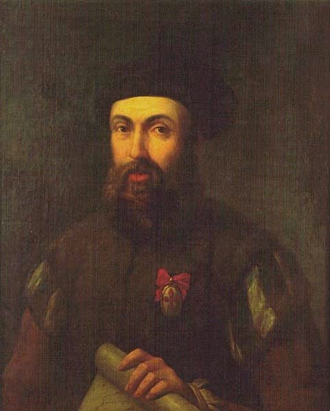 Retrato del militar y navegante portugués Fernando de Magallanes (1480-1521).