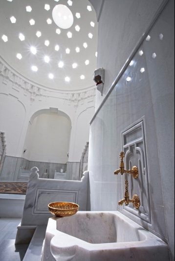 Hurrem Sultan Hamam Interior