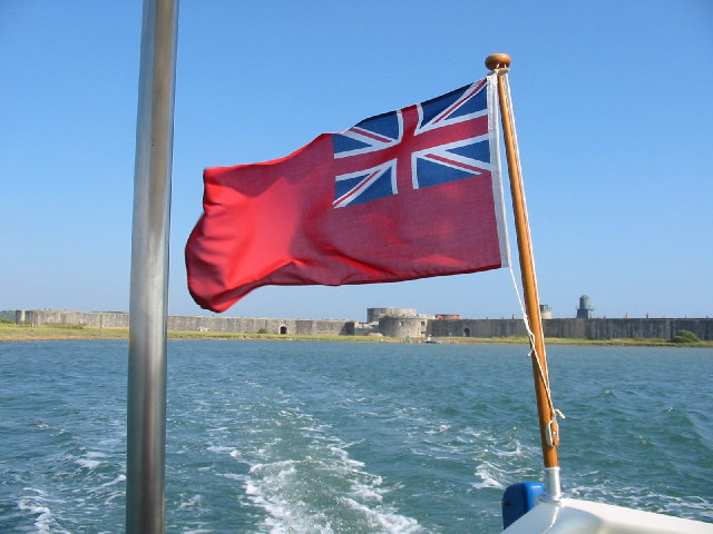Hurst Castle. Taken from the Hurst Castle ferry which operates from Keyhaven.