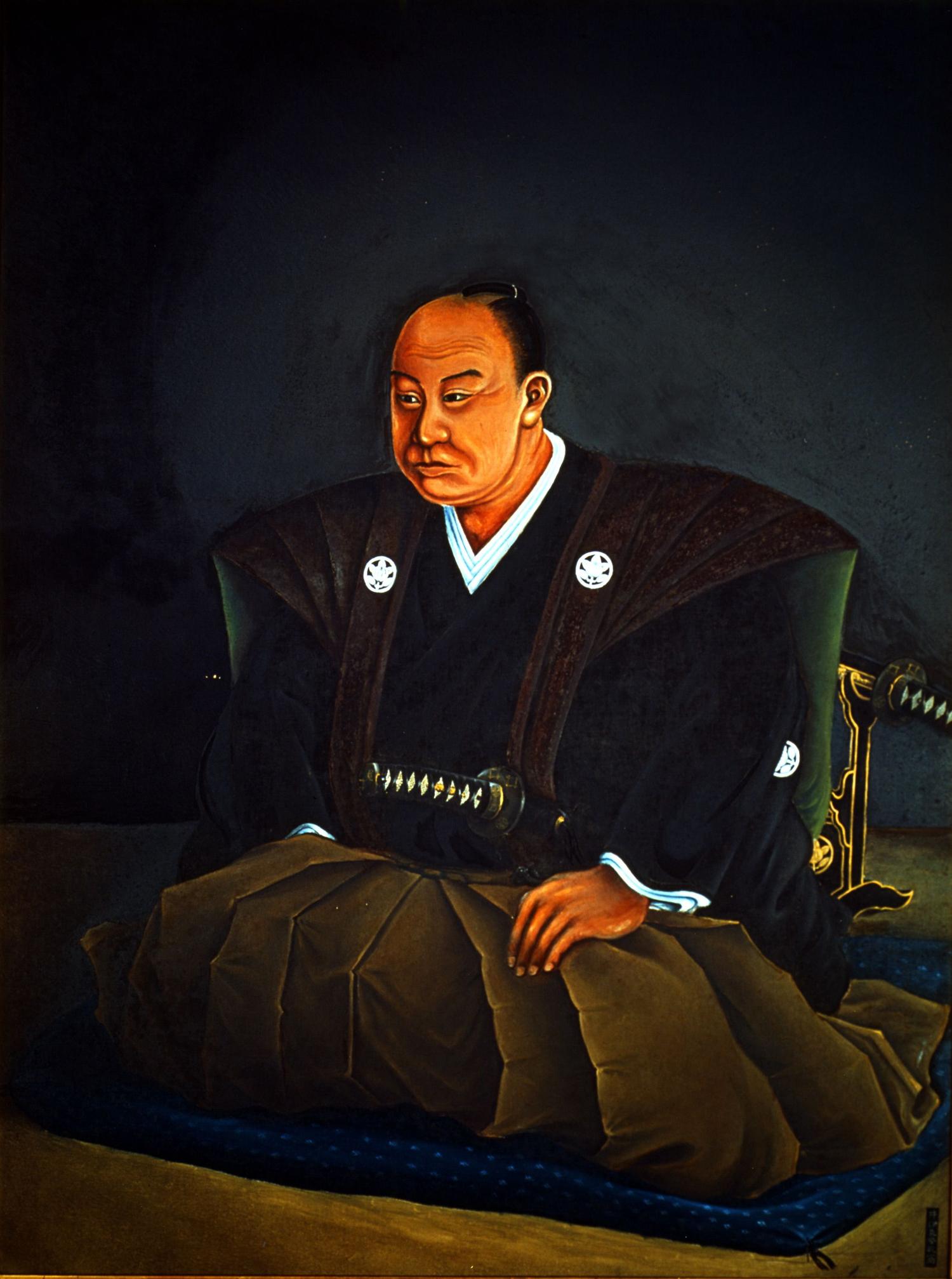 井伊直弼肖像画