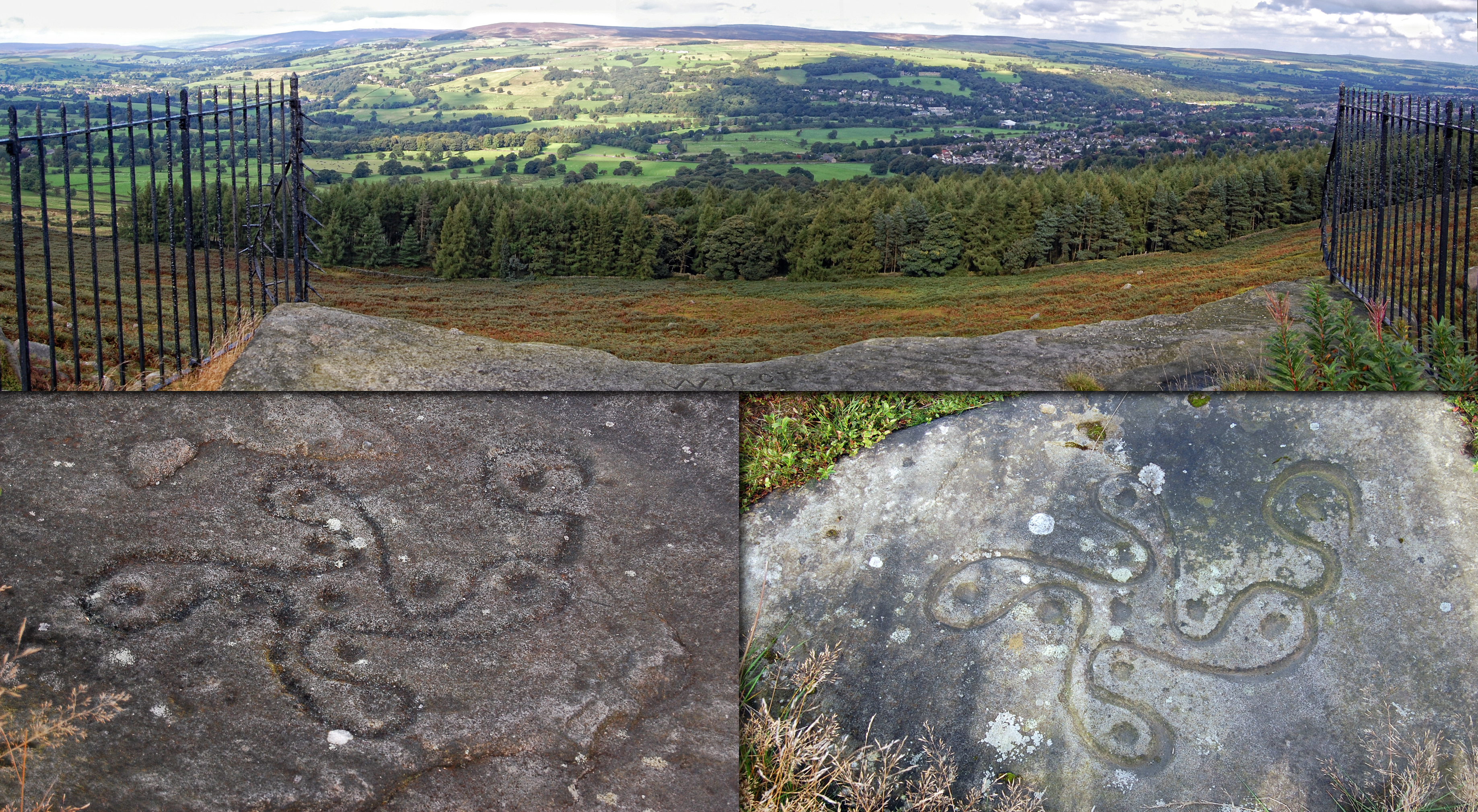 Wayne herschel author the hidden records discovered 35 it is thousands of years old as well and called the ilkley moor swastika stone ref here is the close up iimage reference biocorpaavc