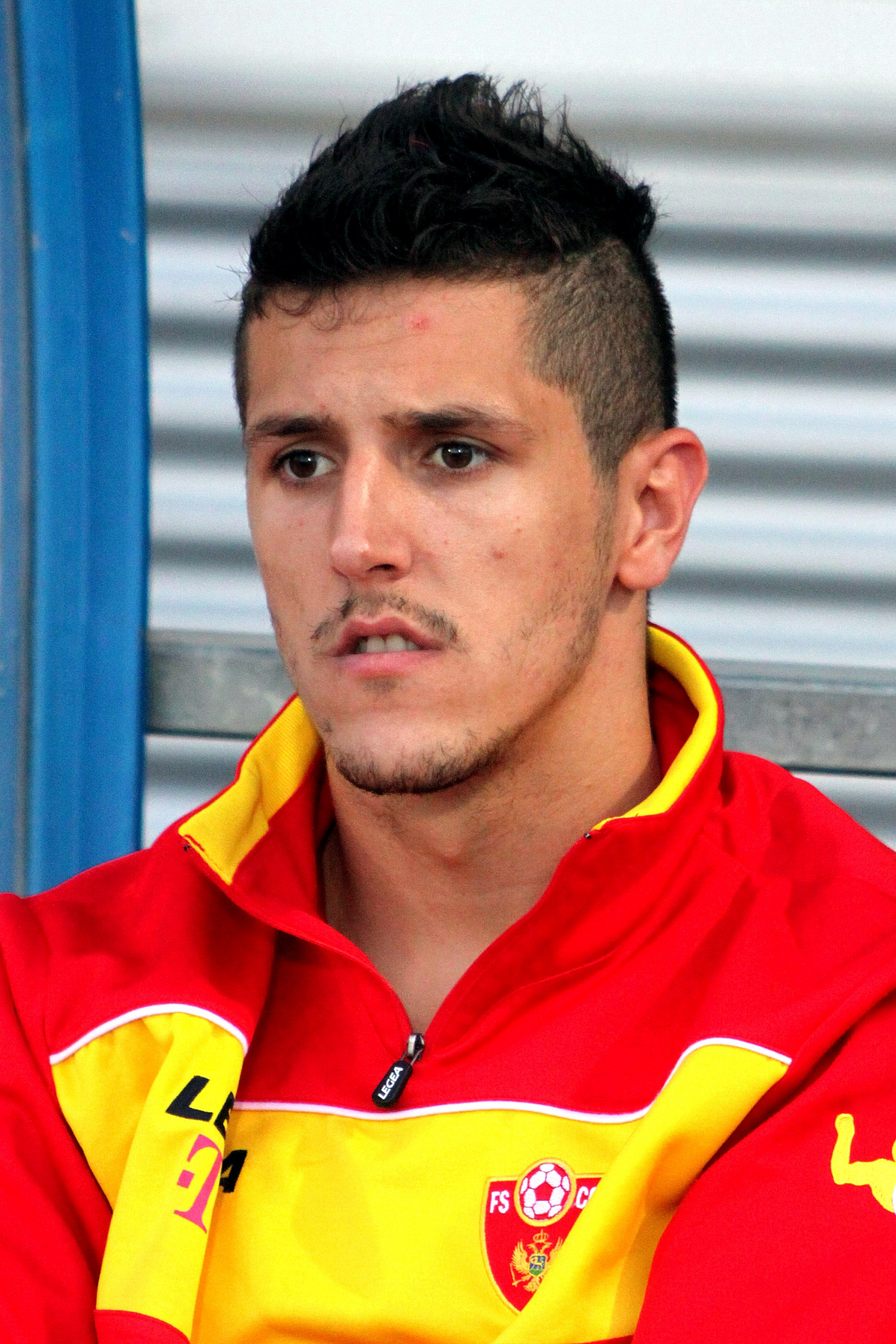 The 28-year old son of father (?) and mother(?) Stevan Jovetic in 2018 photo. Stevan Jovetic earned a  million dollar salary - leaving the net worth at 21 million in 2018