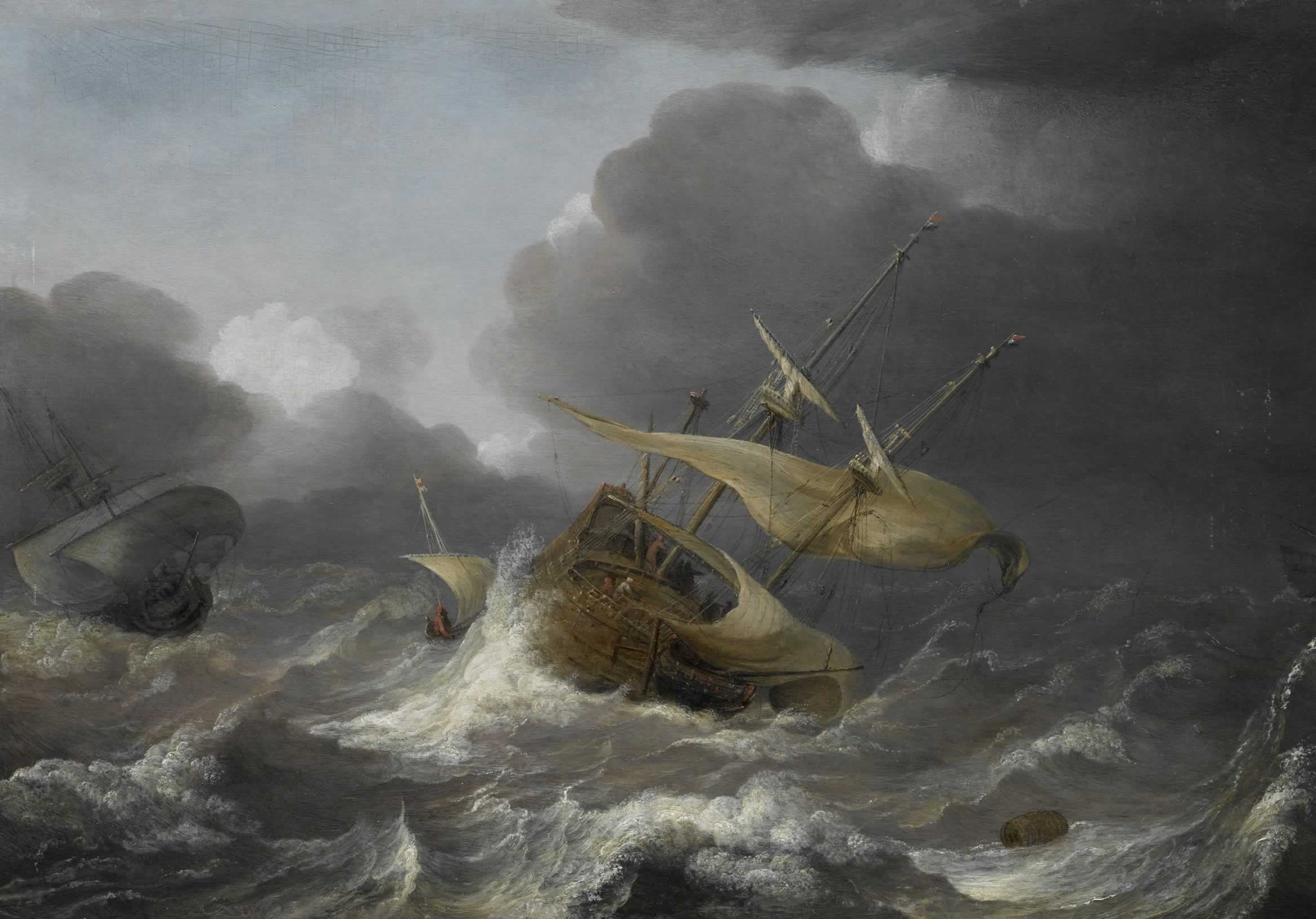 Shipwreck Paintings Artists