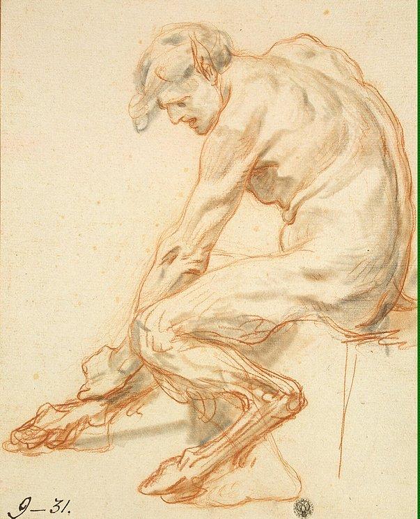 Study of a Faun