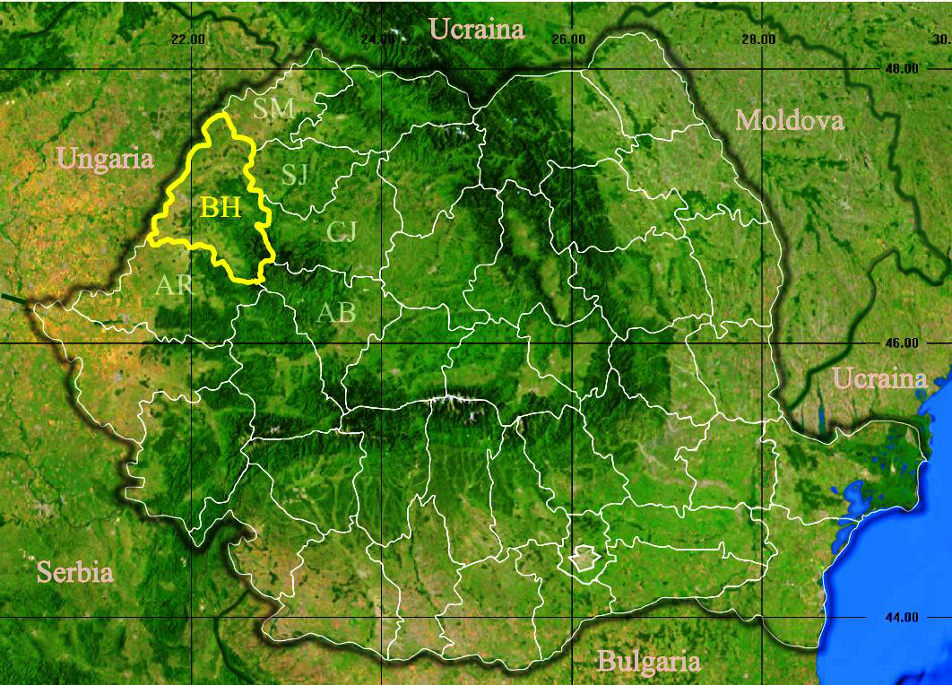 File Judetul Bihor 3d Map Jpg Wikipedia