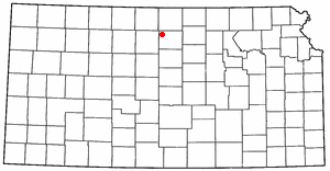 Loko di Cawker City, Kansas