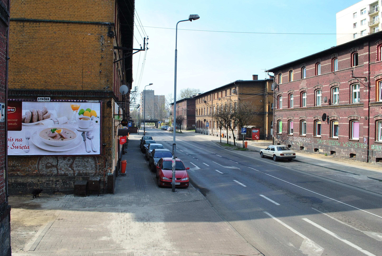 Ulica Wiśniowa w Katowicach