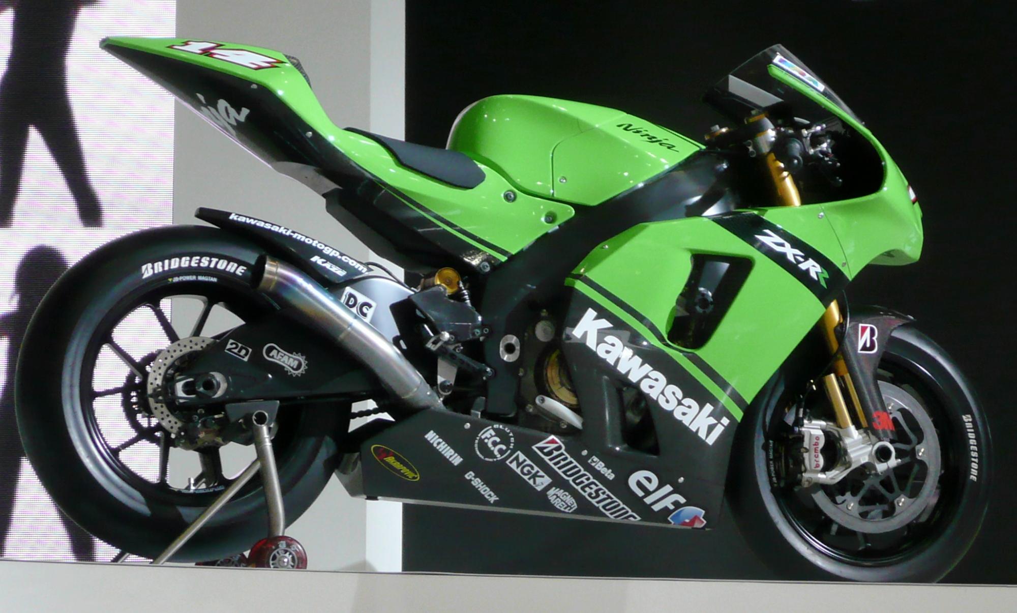 2005 Kawasaki Ninja ZX-RR 990cc MotoGP motorcycle